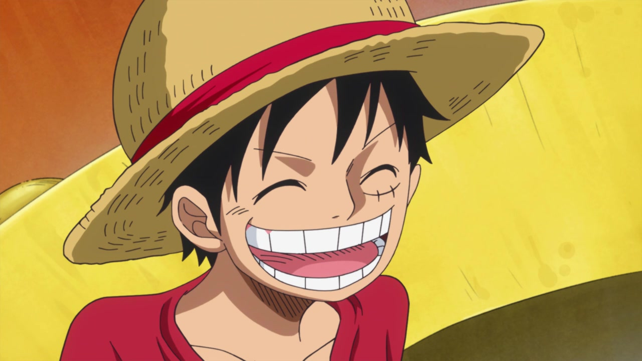Luffy in One Piece. Photo from Toei Animation.