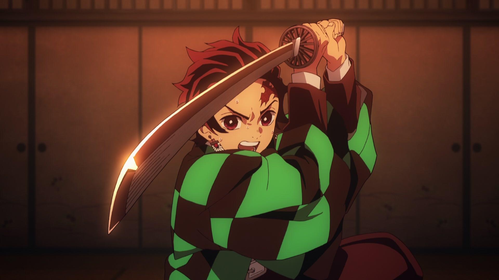 Tanjiro in Demon Slayer. Photo from Ufotable.