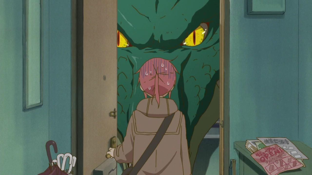 One of Kobayashi and Tohru's first encounters on Miss Kobayashi's Dragon Maid.